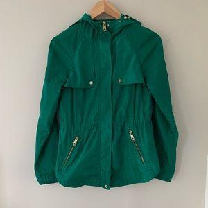 🌲 GORGEOUS emerald green Zara jacket